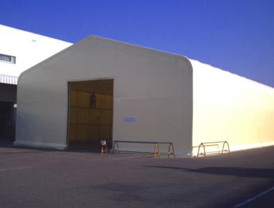 倉庫の施工事例1