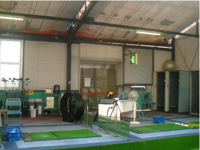 ゴルフ練習場の施工写真0