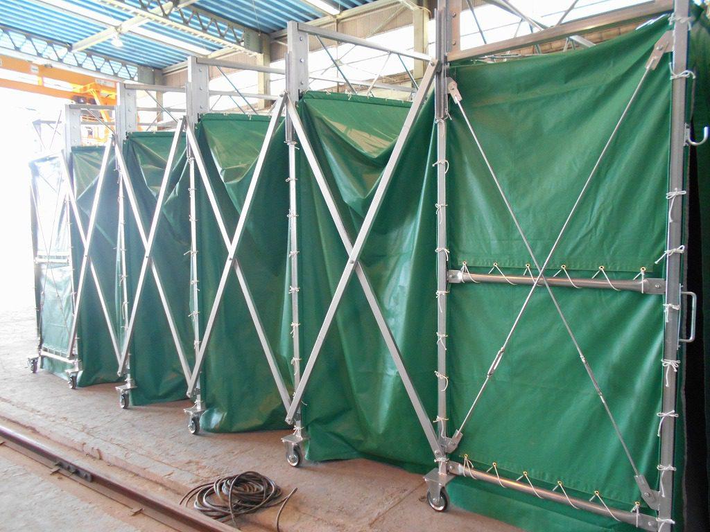 ジャバラハウスJ-4の施工写真4