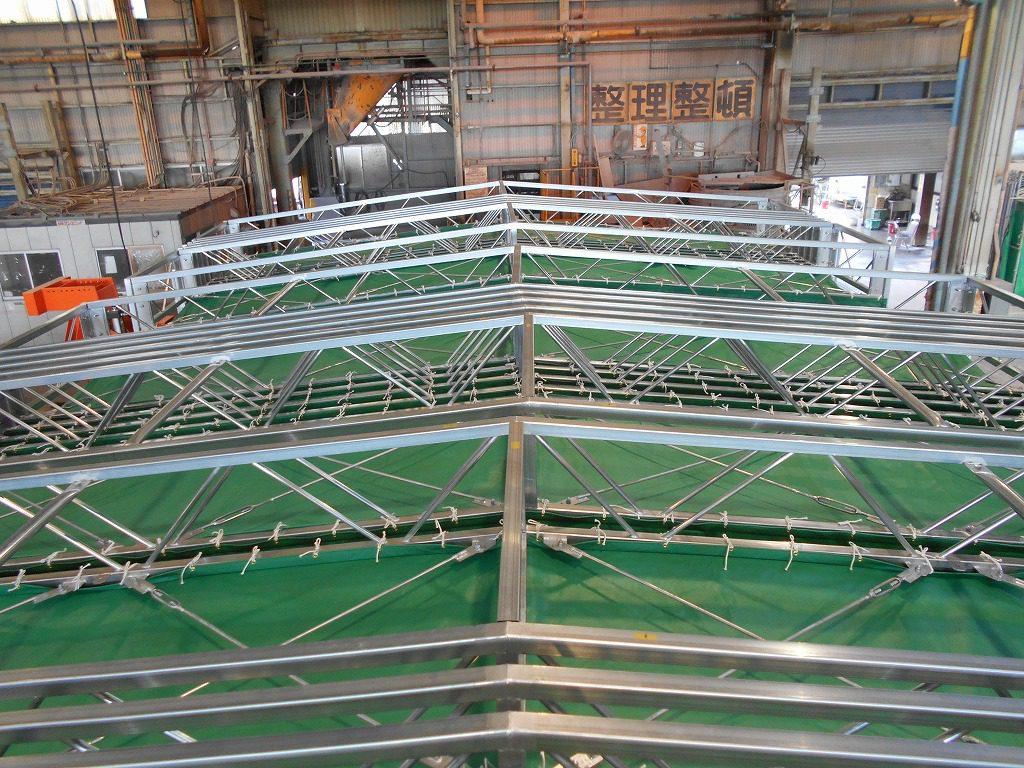 ジャバラハウスJ-4の施工写真10