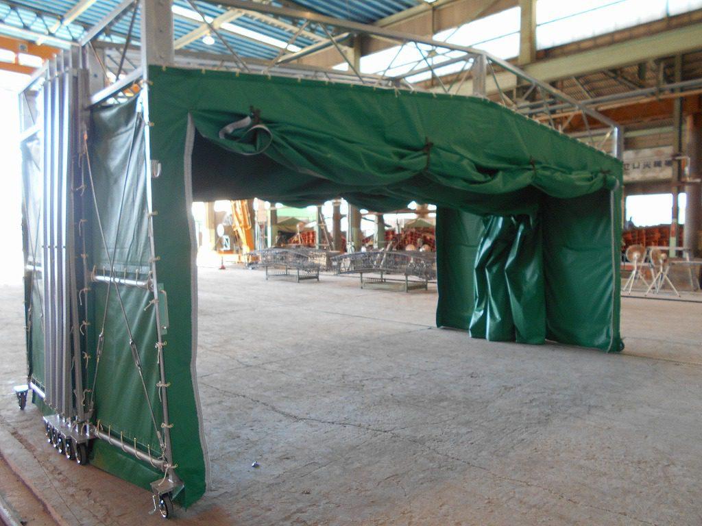 ジャバラハウスJ-4の施工写真12