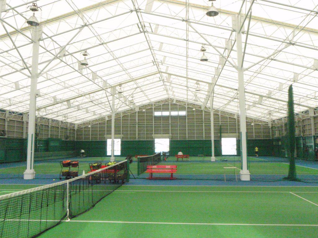 スポーツ施設の施工写真0