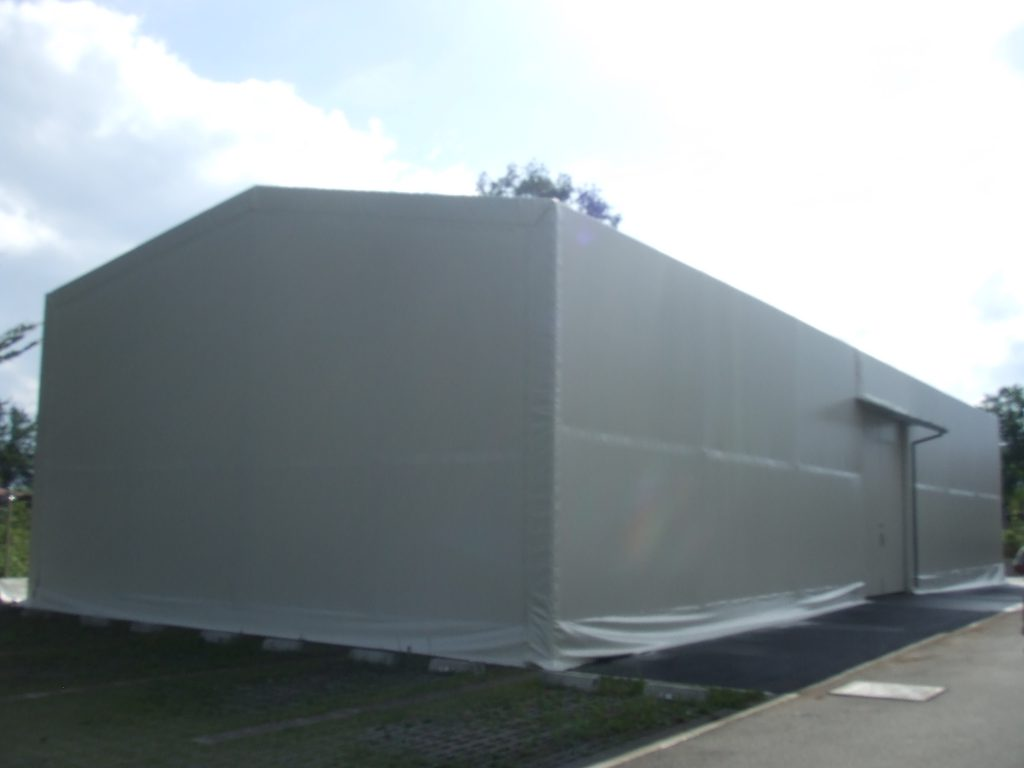レンタルテントの施工写真0