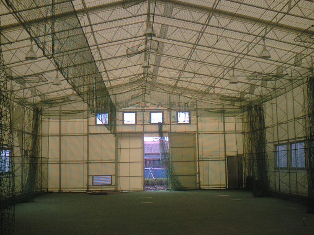 スポーツ施設の施工写真1