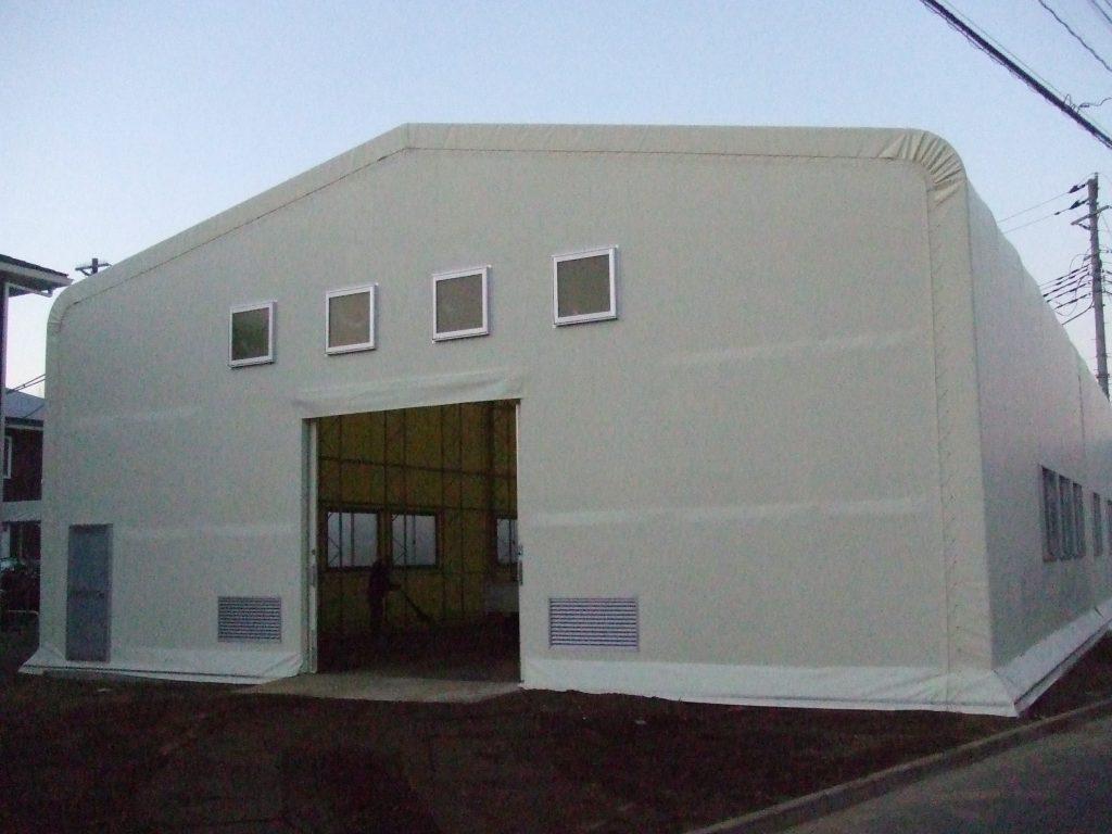 スポーツ施設の施工写真2
